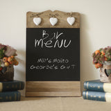 blackboard wedding sign menu