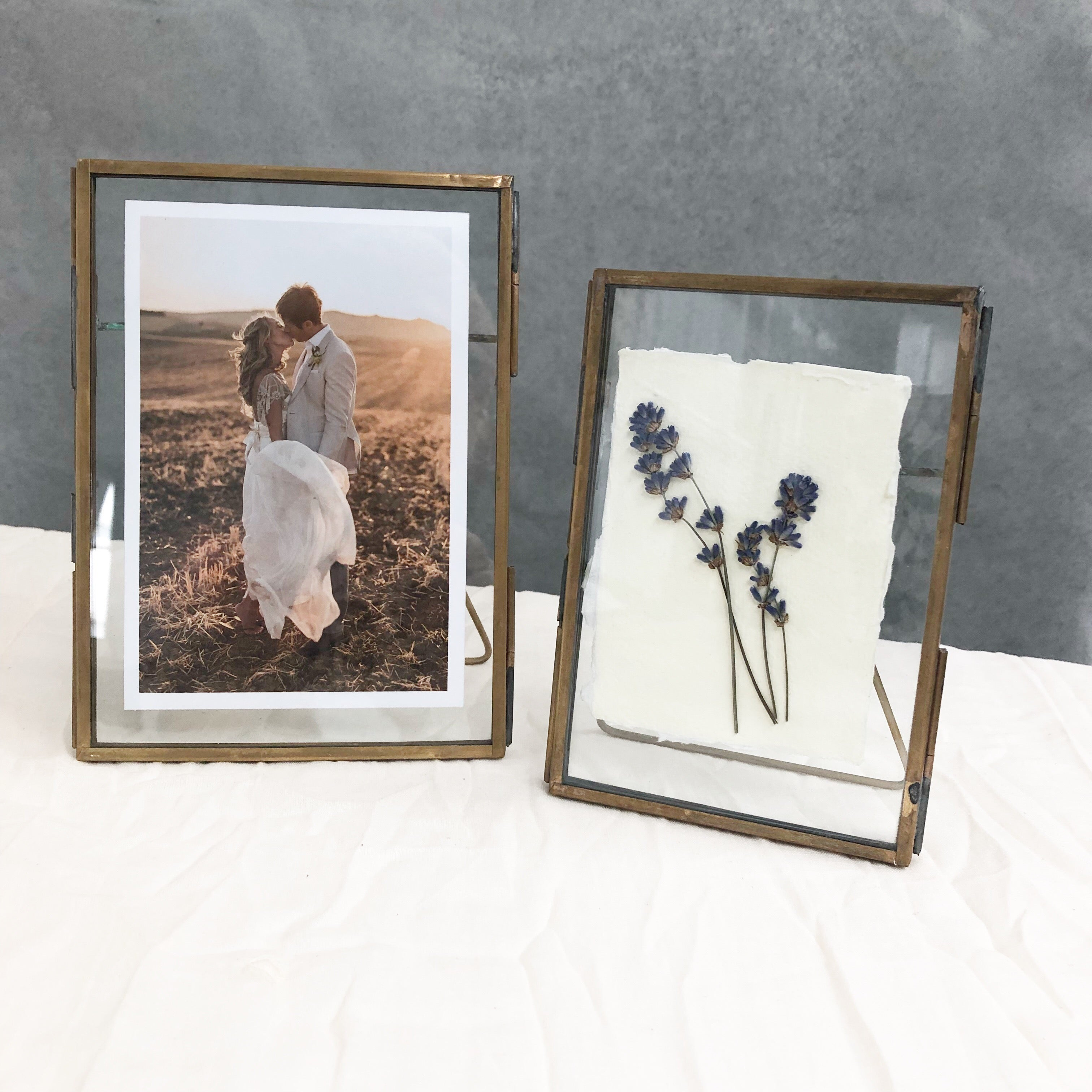 Brass Photo Frames Free Standing Pre Order For Delivery Early Marc The Wedding Of My Dreams