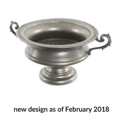 Large Bronze Urn Centrepiece With Handles
