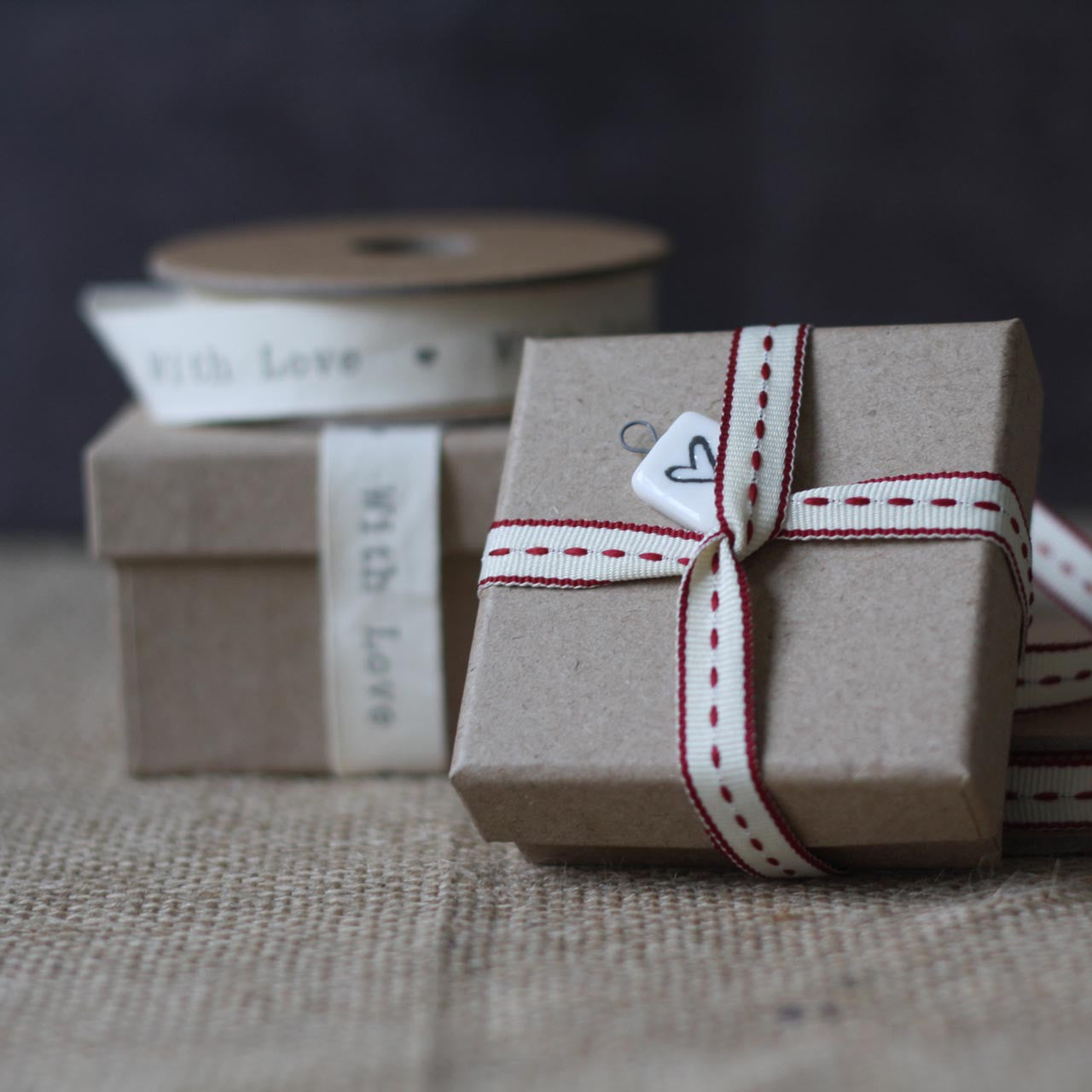 Recycled Brown Card Gift Box Wedding Favour Box The Wedding Of My