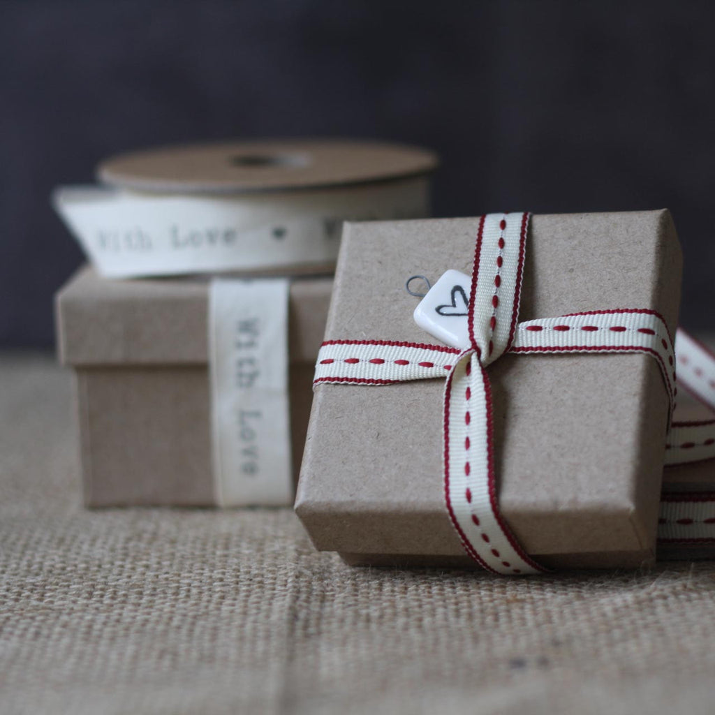 recycled brown card gift boxes wedding favour boxes