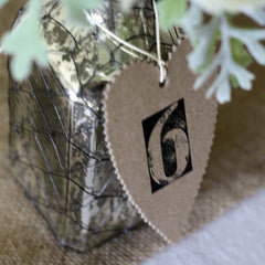 number stamps for weddings