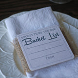 Suggestions For Our Bucket List Rustic - Alternative Wedding Guestbook ideas