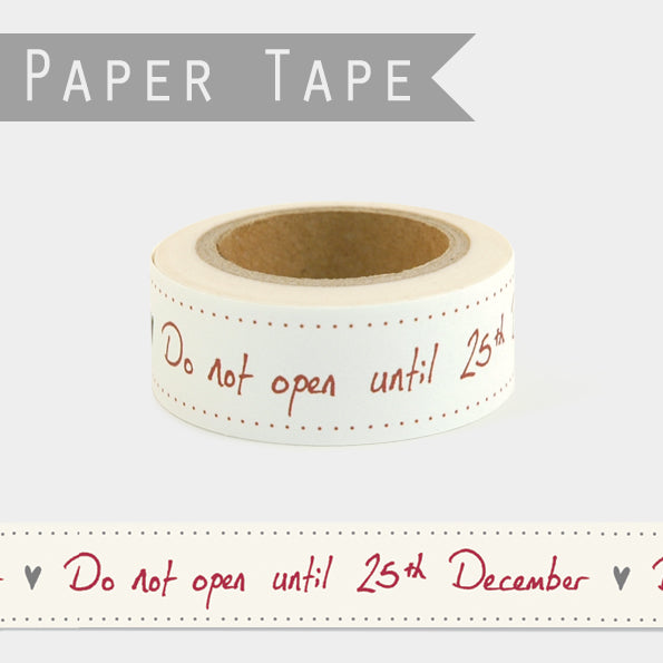 Decorative Christmas Tape - 10m Roll