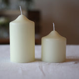 Church Candle 13cm x 7cm @theweddingofmydreams