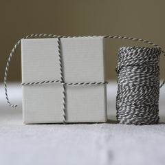 grey bakers string twine for wedding crafting available from The Wedding of my Dreams
