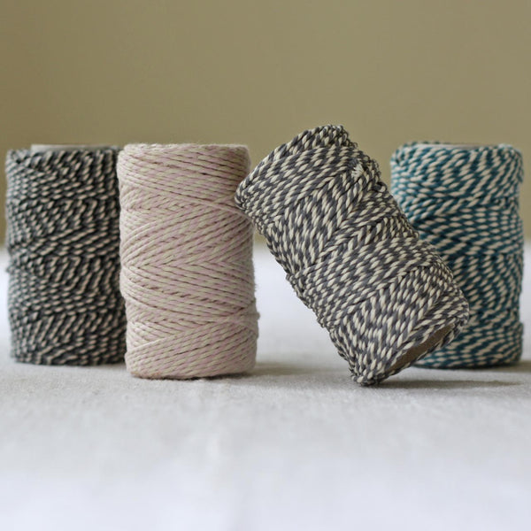 coloured bakers string twine