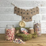 Confetti Bar - wedding ideas