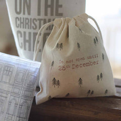 Christmas Gift Bags No Peeking