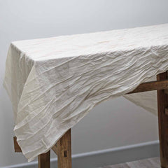 Cream Cotton Table Runner available from The Wedding of my Dreams