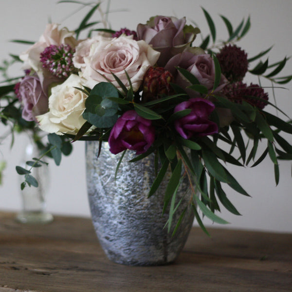 Antique Silver Vase or Lantern available from @ The Wedding of my Dreams