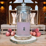 Tree Slice Rustic Wedding - For Rustic Drinks Station