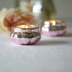 Mini Mercury Pink Floating Tea Light Holders