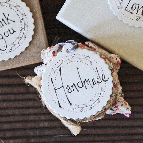 Handmade Round Gift Tags