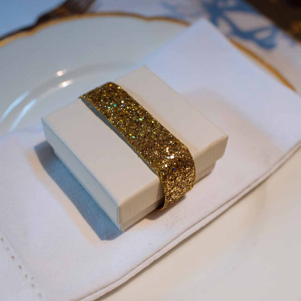 Gold Glitter Ribbon