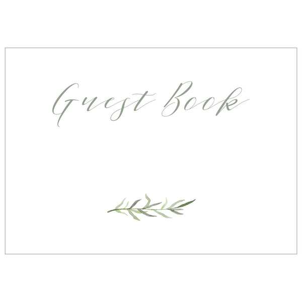 Guest Book - Digital Download / Printable