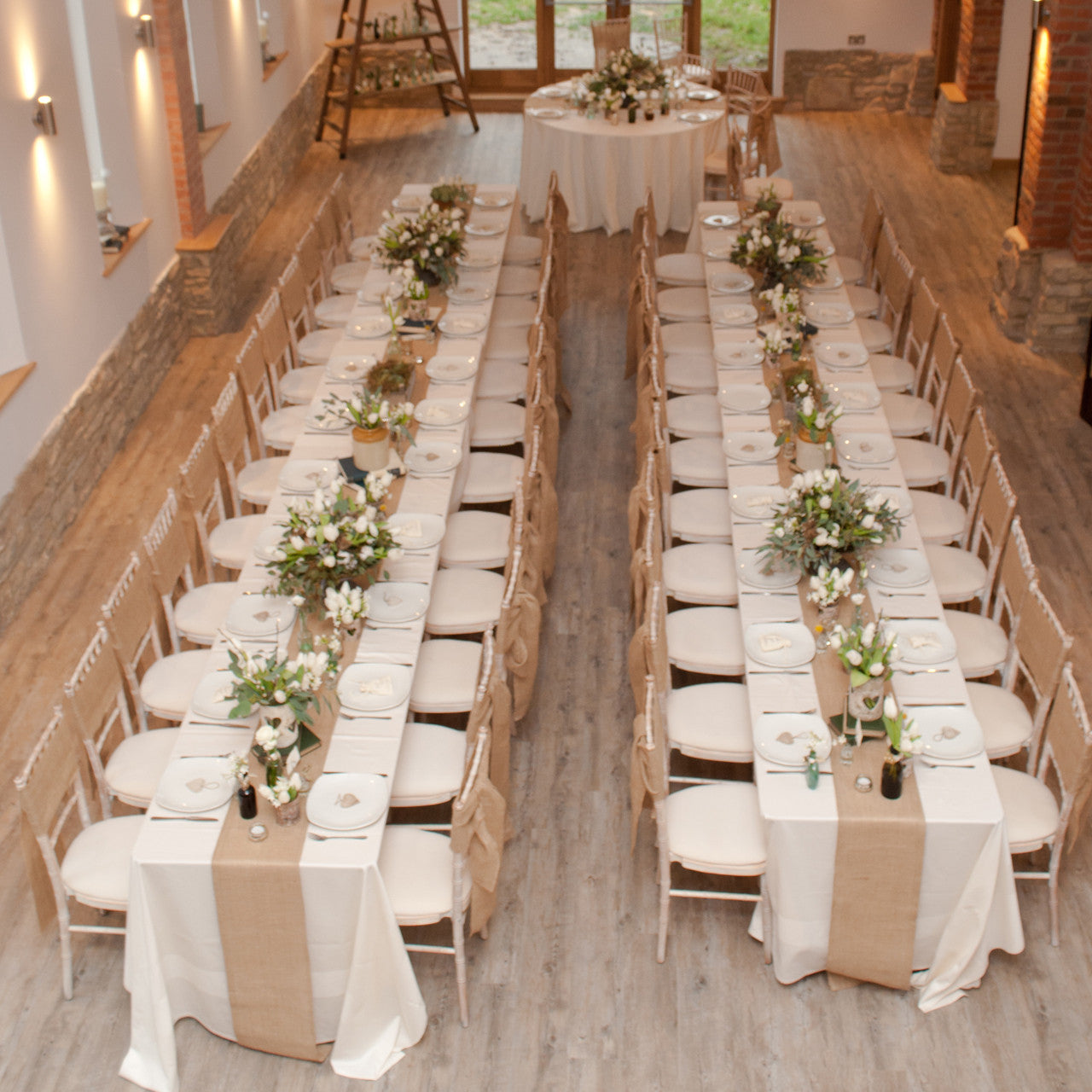 Hessian burlap table runner 5m length the wedding of my dreams junglespirit Choice Image