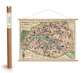 Vintage Poster Kit For Map Table Plans