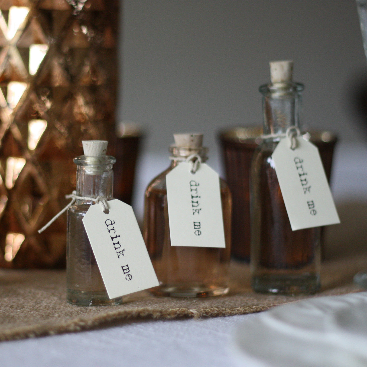 Mini Glass Bottles With Cork Stopper