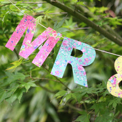 MR & MRS Bunting - Floral