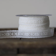 Lace Ribbon Narrow - Sold By The Metre