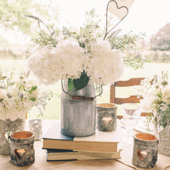rustic wedding table decorations