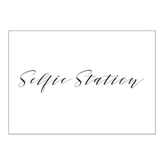 Selfie Station - Digital Download / Printable