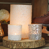 sequin tea light holders lanterns