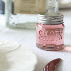 Shot Glass Wedding Favours (with lids)