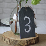 Slate Luggage Tag Table Number Or Sign Large