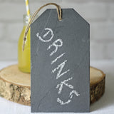 Slate Luggage Tag Wedding Sign
