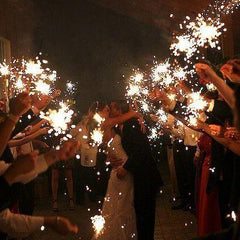 Wedding Sparklers - Large & Giant Send Off Sparklers - Pack Of 5