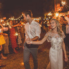large wedding sparklers wedding send off available from The Wedding of my Dreams