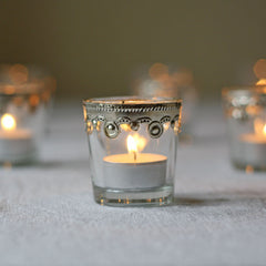 elegant wedding tea light holders