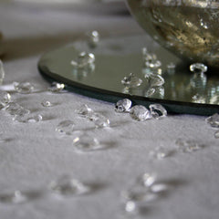 scatter crystals wedding
