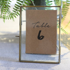 VPrintable: Table Numbers (Brush Stroke) 1 - 24 available from The Wedding of my Dreams
