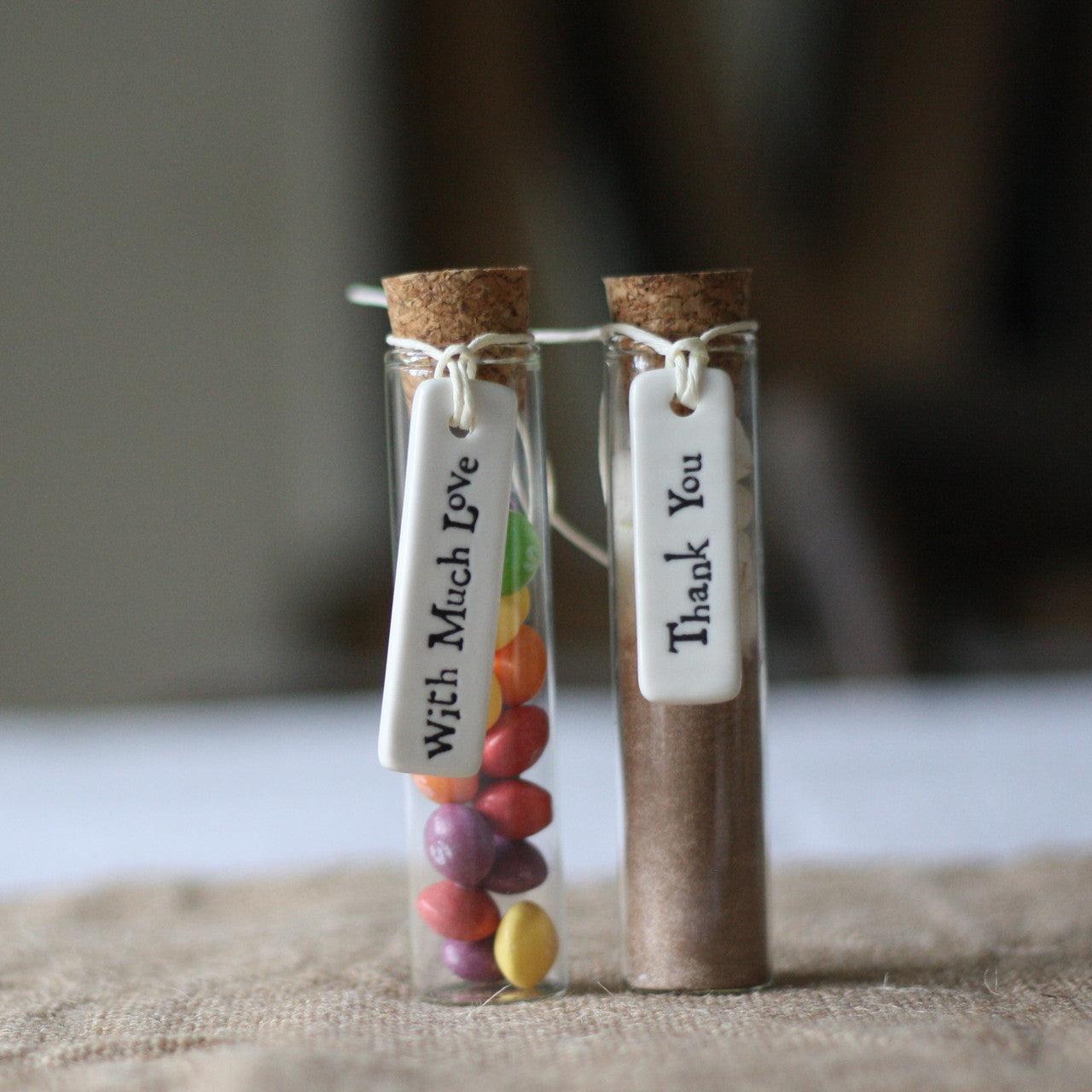 Test Tube Wedding Favour With Cork Stopper – The Wedding of My Dreams