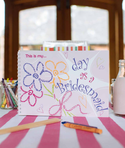 My Day as a Bridesmaid Keepsake Book