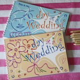 Children's Wedding Keepsake Book  This Is My Day At A Wedding