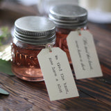 shot glass wedding favours We Tied The Knot Now Have A Shot Tags