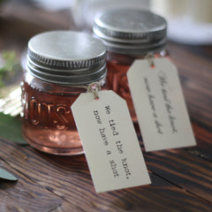 Shot Glass Wedding Favours