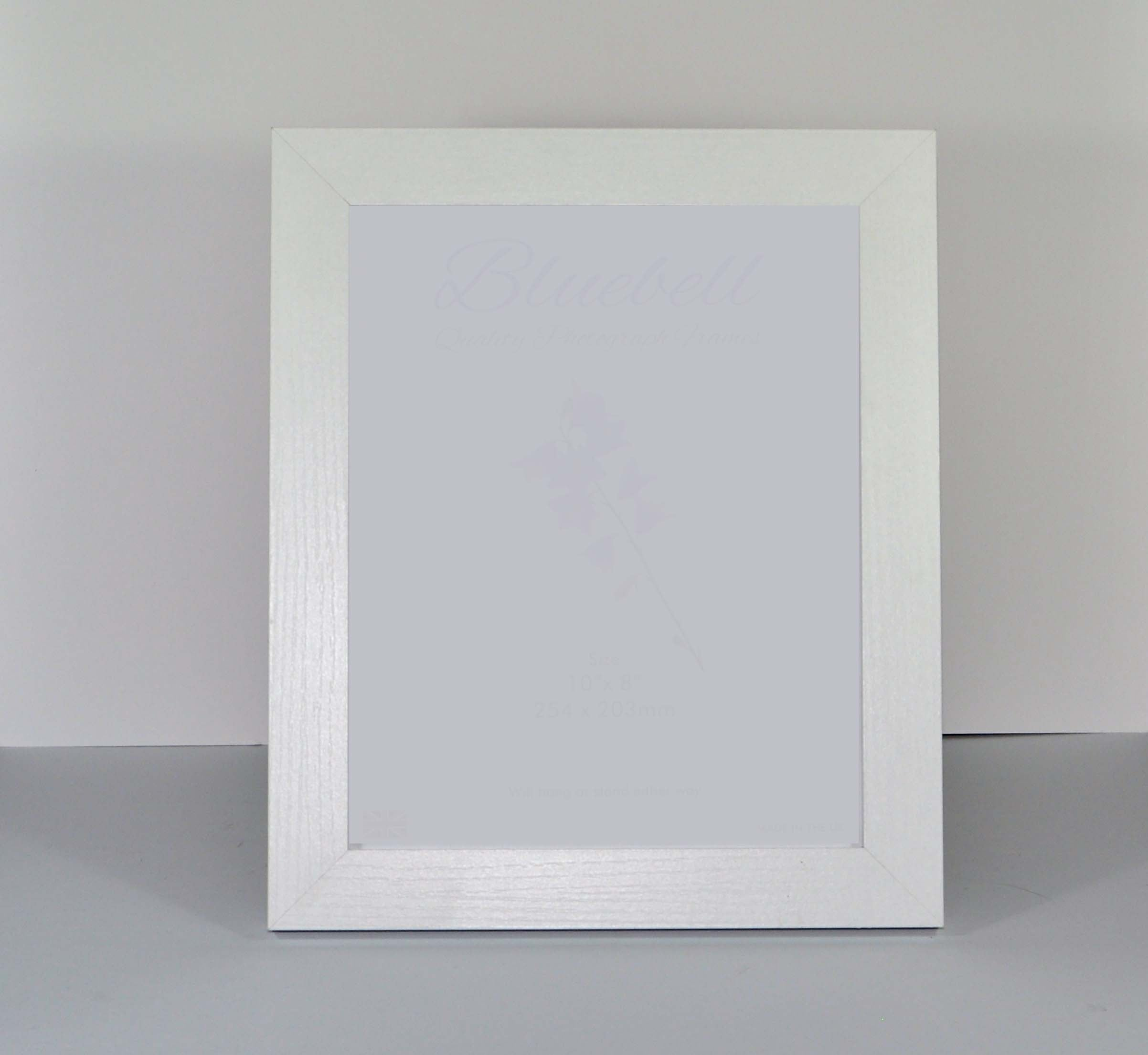 whitewashed wooden photo frame two sizes - Whitewashed Picture Frames