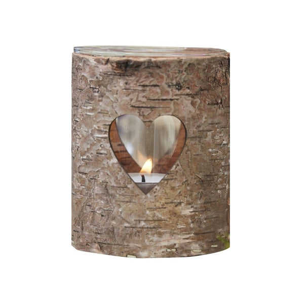 Rustic Bark Tea Light Holder Set Of 3 The Wedding Of My Dreams