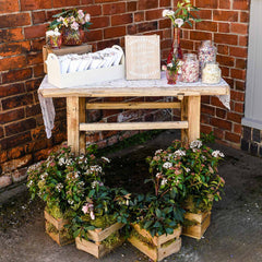 Wooden Crate Box Wedding