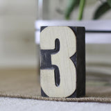 wooden table numbers for weddings