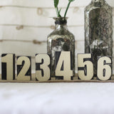 wooden numbers blocks