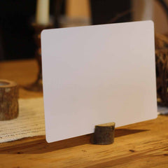 Rustic Wooden  Tree Stump Card Holders