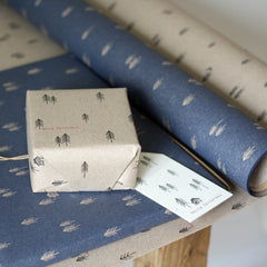 Christmas Woodland Wrapping Paper 3m Roll