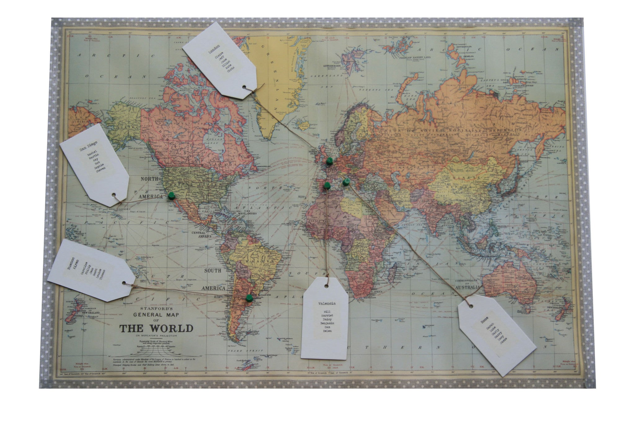 World map wedding table plan the wedding of my dreams gumiabroncs Images