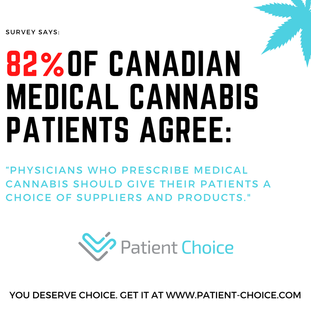 Medical Cannabis Patients Want Choice